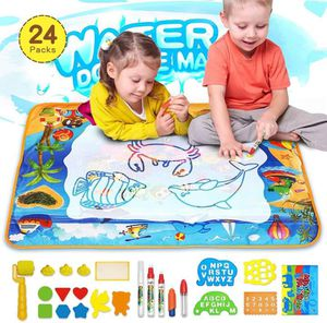 Magic Doodle Mat Toy,Kids Painting Writing Doodle Board Toy,Extra Large Water Doodle Drawing Mat with 5 Magic Pens| Educational Toys. for Sale in Duluth, GA