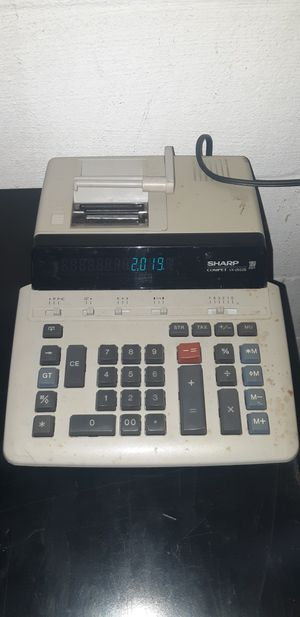 Sharp adding machine 10 for Sale in Camden, DE