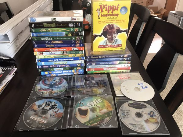 DVD and blu ray movies