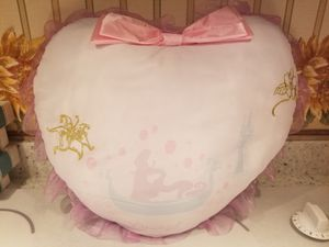 Disney princess Rapunzel heart pillow for Sale in Gibsonia, PA