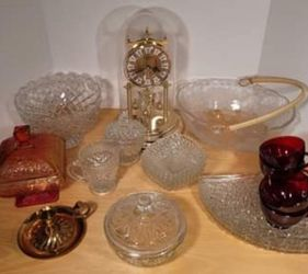 Vintage Glassware All For $50 Or By The Piece for Sale in Gresham,  OR