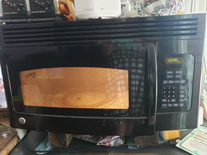 Black GE Microwave for Sale in Tracy, CA