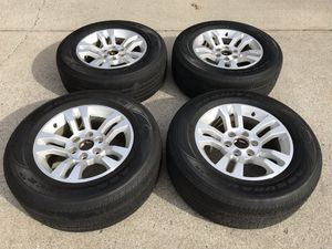 "Chevy 6 Lug Stock 18"" Wheels and Goodyear Tires for Sale in Murfreesboro, TN"