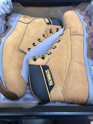 DEWALT Men's Halogen 6'' Work Boots - Steel Toe - Wheat Size 12(M) for Sale in El Monte, CA