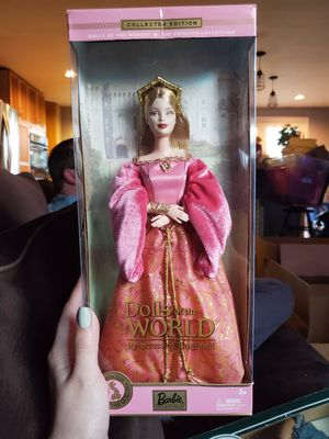 Dolls of the world, princess of england barbie for Sale in Gig Harbor, WA