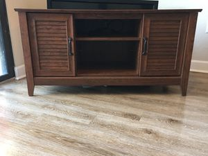 Wooden tv stand for Sale in Tampa, FL