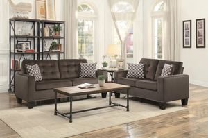🌲Homelegance Lantana Chocolate Living Room Set for Sale in Fairfax, VA