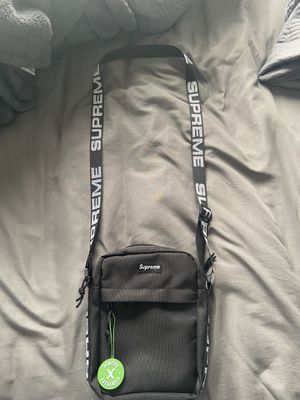 Supreme ss18 black shoulder bag dead stock trades welcome! for Sale in March Air Reserve Base, CA