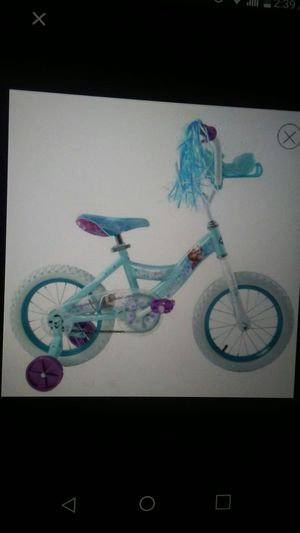 "Huffy Disney Frozen cruiser bike with sleigh 14"" for Sale in Dearborn, MI"