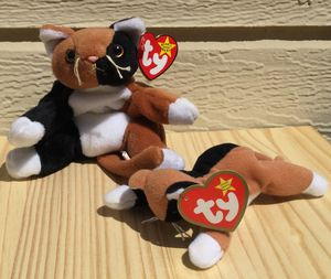 Vintage 90's Beanie Baby Chip the Cat & Teenie Baby ~ Check out my Page 😊 for Sale in Fresno, CA