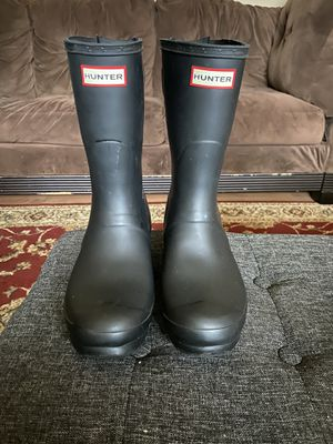 Women's Hunter rain boots for Sale in OR, US