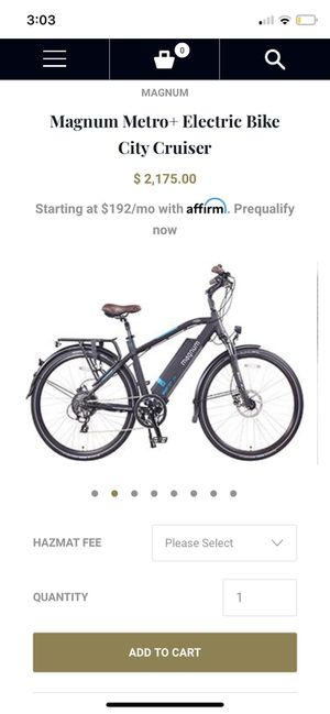 Electric bicycle for Sale in Redondo Beach, CA