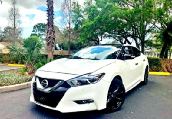 ➤➤ 2016Nissan Maxima Platinum Body-Colored Front Bumper