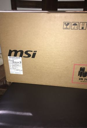 MSI RTX 2060 GAMING LAPTOP for Sale in Tallahassee, FL