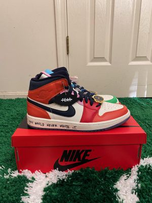 NEW NIKE AIR JORDAN 1 MID FEARLESS MELODY ESHANI SIZE 10.5 WOMENS 9/9.5 MEN for Sale in Fort Washington, MD