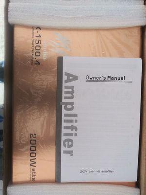 2000 Watt Amplifier for Sale in Fayetteville, GA