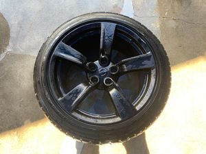 "2010 - 2012 NISSAN 370Z COUPE 18"" INCH WHEEL RIM W/TIRE BLACK (ONLY 1) for Sale in Fort Lauderdale, FL"
