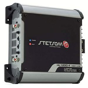 STETSOM 4CH AMPLIFIER HL1200.4 2Ohms for Sale in Orlando, FL