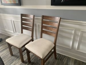 Beautiful things to decorate your home dining table chairs, wooden table and decorative chair for Sale in Cumming, GA