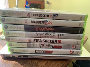 Xbox 360 games for Sale in Westport, CT