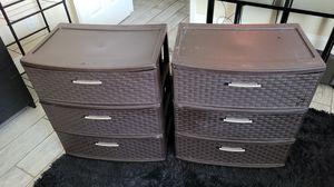 Sterilite 3 drawer storage for Sale in Davie, FL