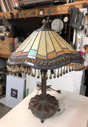 Antique lamp glass shade for Sale in Los Angeles, CA