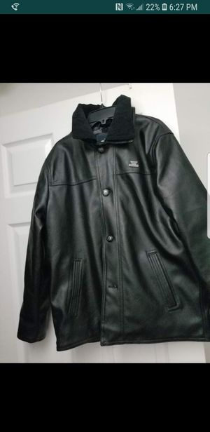 Medium size mens leather jacket for Sale in Baltimore, MD