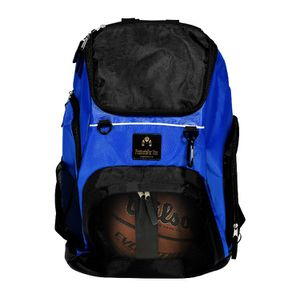 Sports backpack-basketball-football-soccer ball-volley ball-ball-gym-workout-gear-luggage-hiking-storage-mask-gloves-laytex gloves-face mask for Sale in East Haven, CT