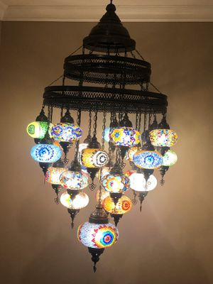 Turkish chandelier for Sale in La Mesa, CA