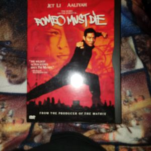 Romeo Must Die Dvd for Sale in Chicago, IL
