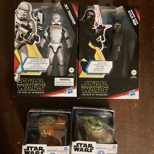Star Wars And Baby Yoda Collectibles for Sale in San Antonio, TX