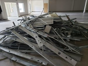 Free scrap metal(studs,commercial door frames,lights) for Sale in Columbus, OH