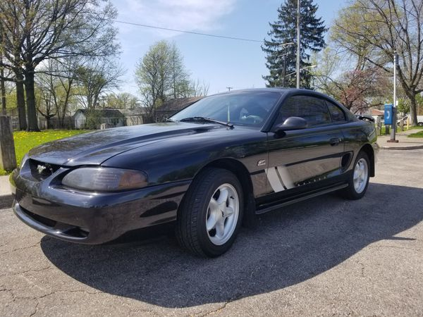 1994 Black Ford Mustang GT 5.0