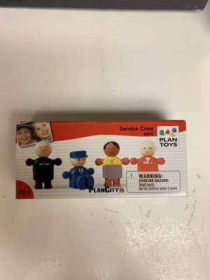 2008 Collectible Plan Toys Service Crew in box for Sale in Mesa, AZ