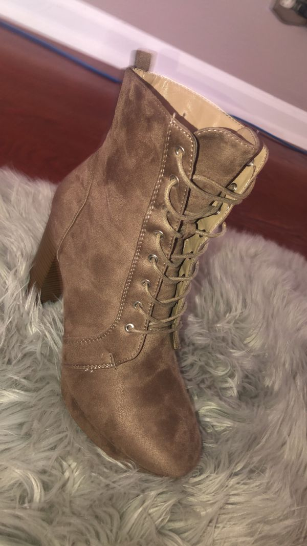 Womens Heeled Boots (Charlotte Russe)