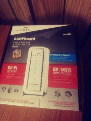 surfboard router/modem combo for Sale in Baytown, TX
