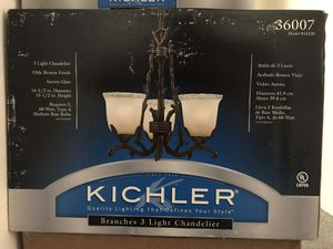 Branches chandelier and 2 sconces-in box for Sale in Walnut Creek, CA