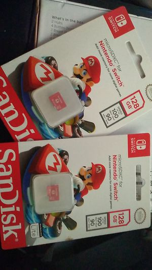 Micro SDXC for Nintendo Switch for Sale in Los Angeles, CA