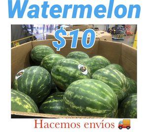 Sandia a $10... Hacemos envíos for Sale in El Monte, CA