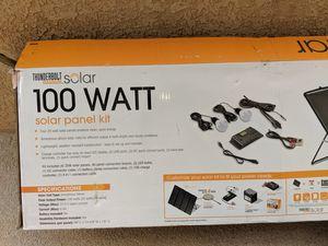 Thunderbuilt Solar Panel Kit 100 watt for Sale in Albuquerque, NM
