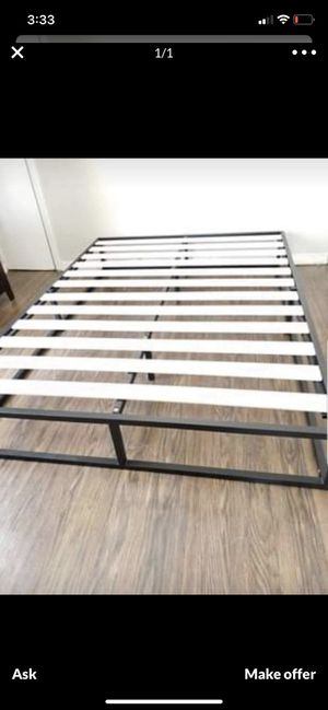 Queen BED FRAME/ 5inch for Sale in Stockton, CA