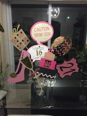 Photo booth props for Sale in Riverside, IL