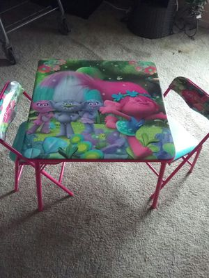 Everything you would need for a kid's room done in troll for Sale in Southfield, MI