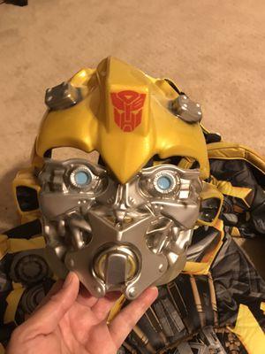 Boys Bumblebee Transformer Halloween costume, size 7-8 for Sale in Marietta, GA