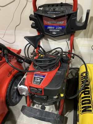 Troy-Bilt 2800 PSI 2.3GPM pressure washer for Sale in Bonney Lake, WA