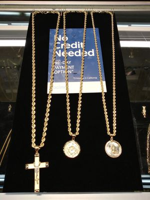 """14k gold chain and charm set 24"""" for Sale in Pomona, CA"""