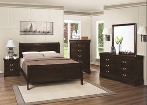 Louis Philippe 5 Piece Bedroom Set by Coaster - 202411 for Sale in Naples, FL