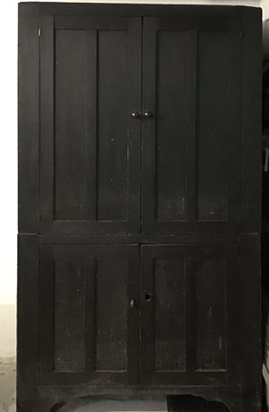 Solid Wood China wall antique cupboard for Sale in Miami, FL