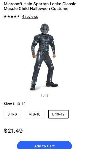 Halo spartan Halloween costume size 10/12 Large for Sale in Manassas, VA
