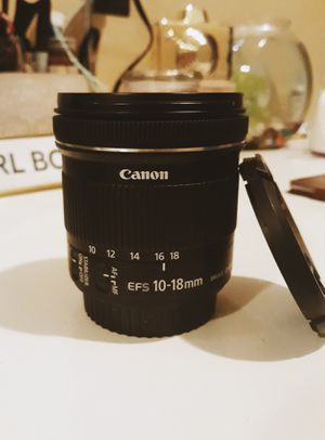 CANON EFS 10-18MM LENS for Sale in Corona, CA